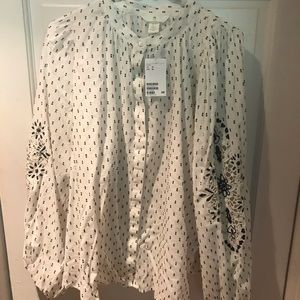 H & M women's blouse